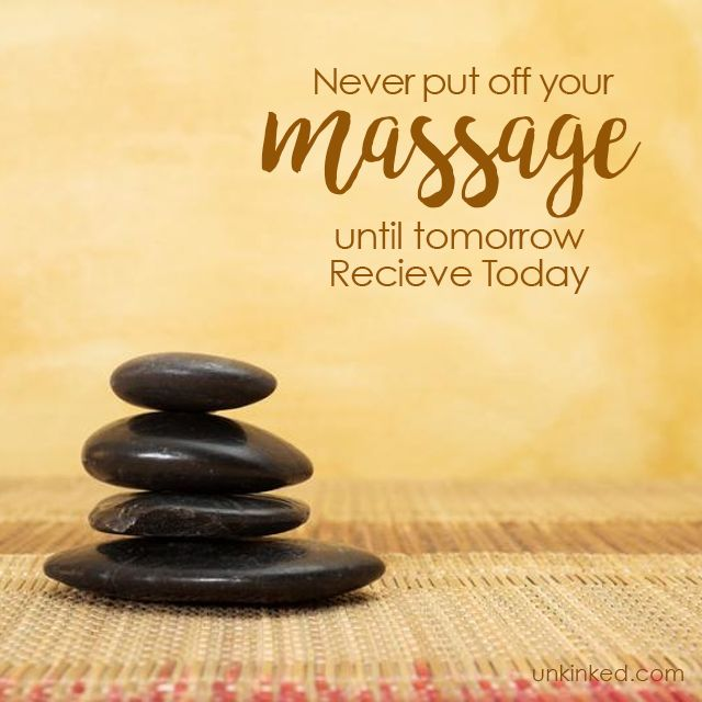 Never put off your massage until tomorrow. Receive it Today...  #unkinked #mobilemassage #massagetherapy #unwind #relax #treatyourself