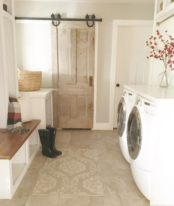 Pin by little yellow cottage on laundry rooms and mud for Chip and joanna gaines meet and greet