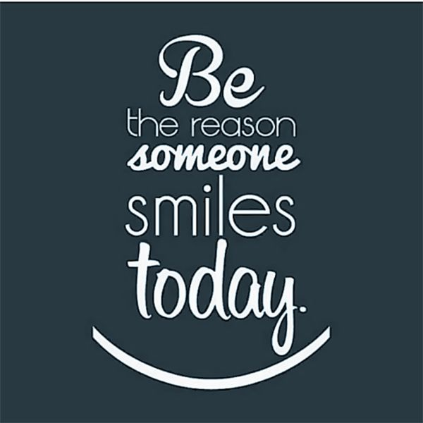 Be the reason someone smiles today. :)  #bethereason #smile - http://ift.tt/1oNRVdq