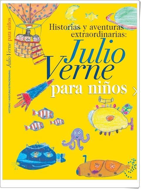 """""""Julio Verne para niños"""""""