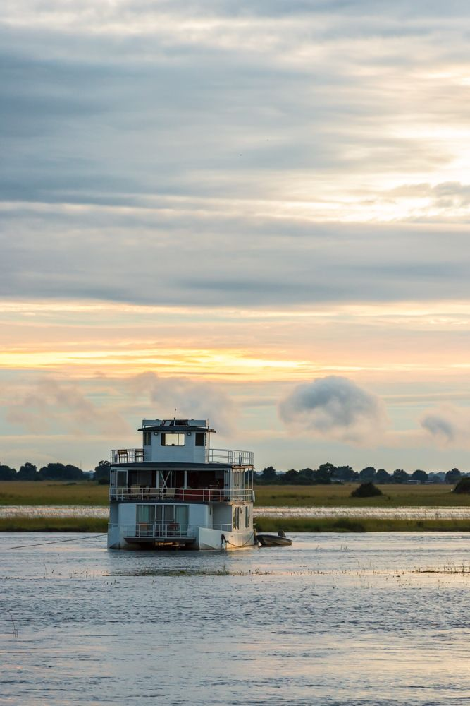 Cruising along the Chobe river in a rich wildlife area, whilst sipping on a drink, is the ultimate in safari decadence.