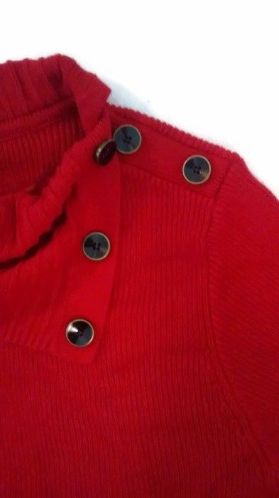 Women's Red Style & Co. Long Sleeve Button Sweater Size 3X (New) #Styleco #Sweater