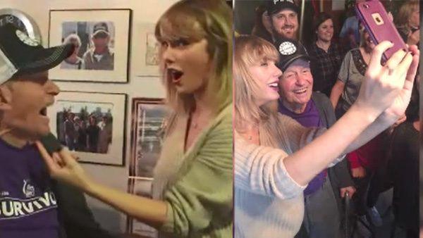Taylor Swift surprises 96-year-old fan