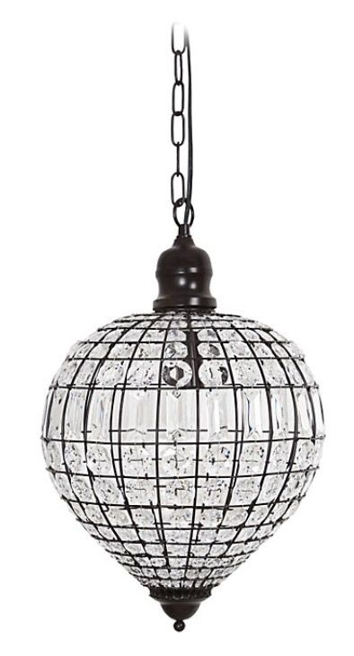 Les 25 meilleures id es concernant verre antique sur for Lustre boule noir
