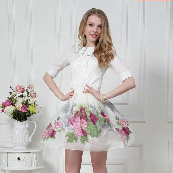 Beautiful Retro Floral Dress My Tgirl Fantasy Wardrobe Pinterest Beautiful Dresses And Floral