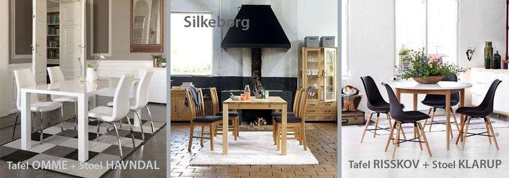 JYSK Blog | Welke eetkamerset pas bij jouw woonkamer | JYSK