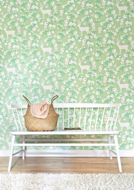 Apple garden grön soffa korg - majvillan.se