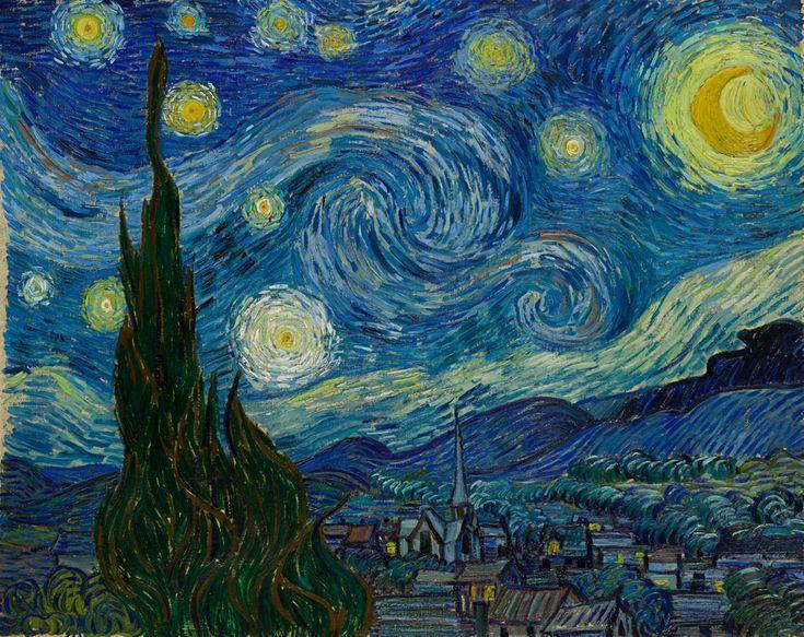 La Nuit étoilée (Van Gogh, 1889)