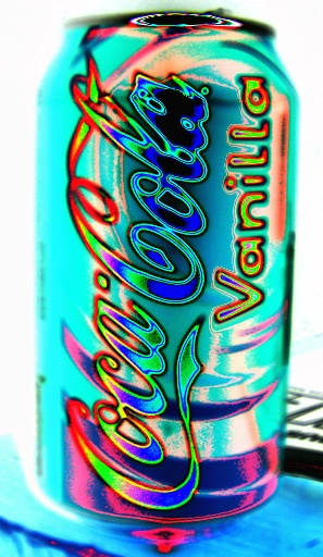 Coca Cola Vanilla! This literally says Sydney's name in bright letters on the other side of this can. no joke! lol