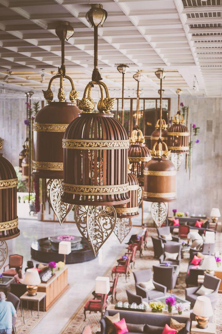 Mandarin Oriental Lobby, Bangkok