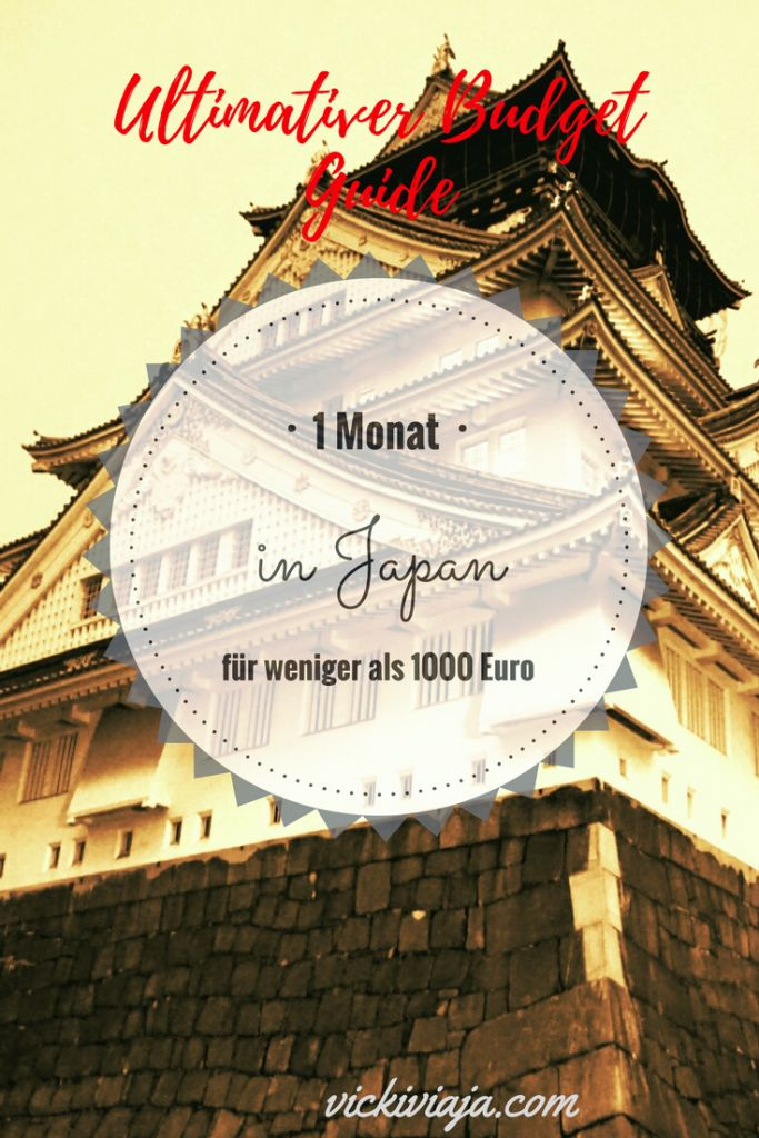 Custo de viagem no Japão – Japão viaja barato: 1 mês por menos de 1000 €   – Reiseziele
