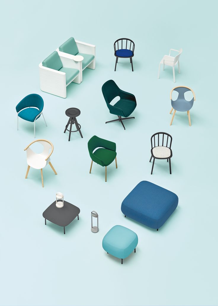 Powder #blue, sage #green, canary yellow, klein blue, coral red, rust orange combine, match and contrast one another in the pages of #Pedrali New ideas 2017 magazine. #SalonedelMobile #MDW17 #design #chair #armchair #seating #lighting #colourfull #wood #plastic #upholstered