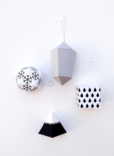DIY Ornaments by Minieco