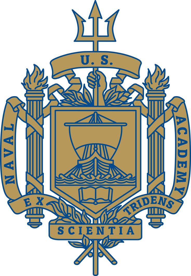 United States Naval Academy Trident Logo