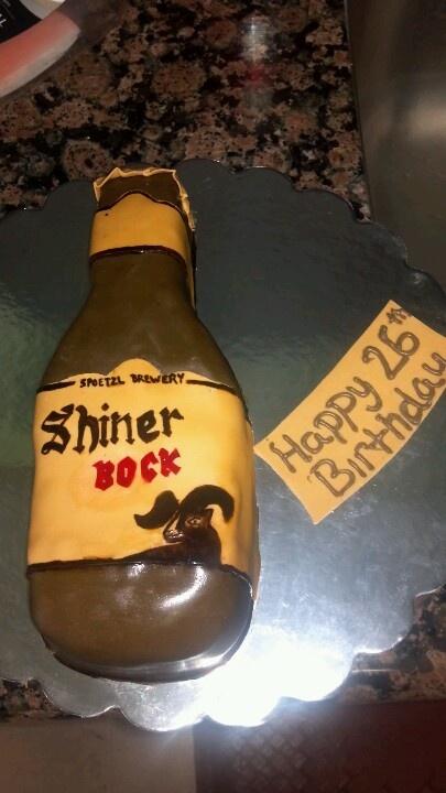 Shiner bock cake recipe