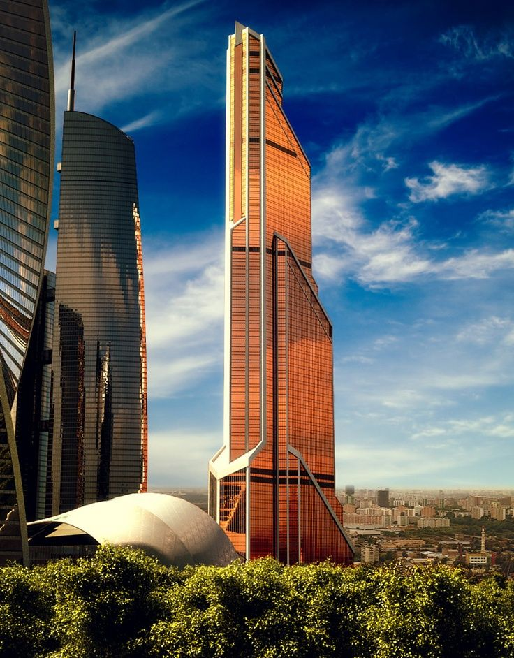 Mercury city tower, moscow, russia