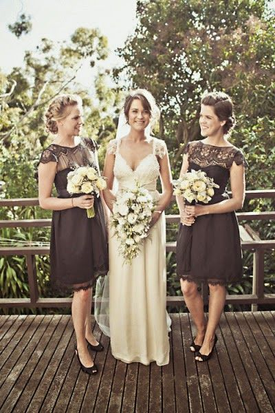 Sparkle: Bridesmaid dresses