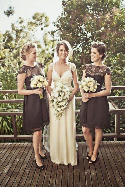Sparkle: Bridesmaid dresses