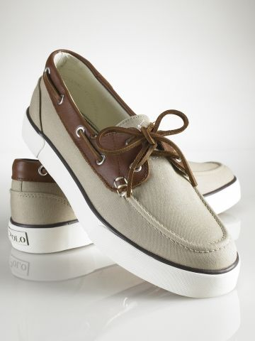 Polo Ralph Lauren Rylander Boat Shoes. Dress up, dress down. Online and at Macy's for $59.00