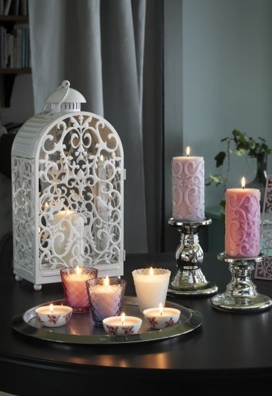126 best images about weddings on pinterest us paper lamps and glasses - Candele decorative ikea ...