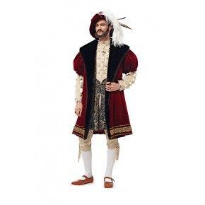 Schnittmuster - burda style - Engl. Renaissance - Mantel, Hut und Strümpfe
