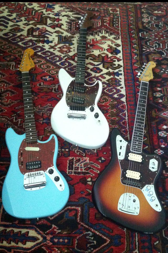 Fender History. A Jaguar + A Mustang = The Jagstang. Nirvana Kurt Cobain.