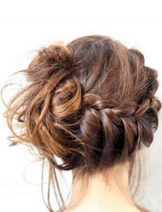The French Bun    Like everyone lately, we are obsessed with braids. Always on the hunt for the latest ones, Instagram has become our go-to source of inspiration. Here are some of our favorites this week. Buns are getting hot again so we absolutely loved this bun/braid hybrid by thatglitterglows. And because it's a little messy, it comes off as super casual.French Braids, Hairstyles, Messy Hair, Long Hair, Messy Braids, Messy Buns, Hair Style, Side Buns, Braids Buns
