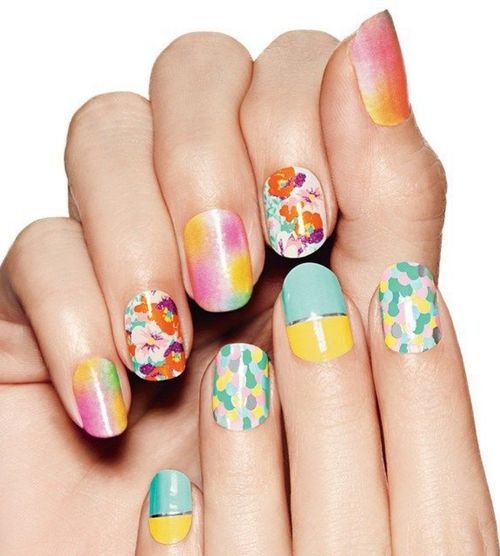 Perfect nails for the spring