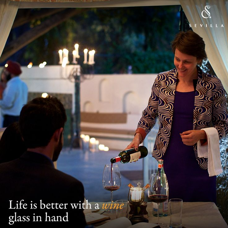 The next time you visit Sevilla, ask for our in-house sommelier, Judith! Her recommendation will perfectly complement our sumptuous Mediterranean dishes!