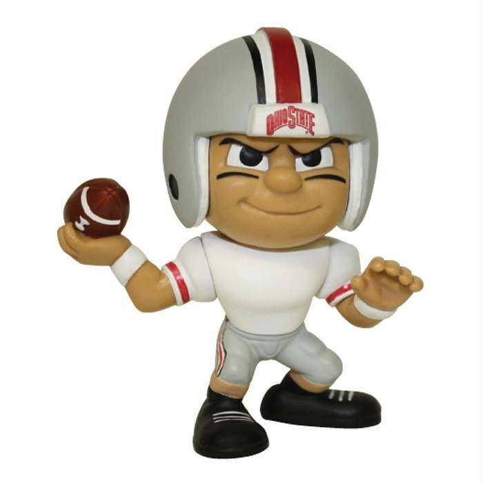 Lil Teammates Series Ohio State Buckeyes Quarterback Figurine (Edition 2)