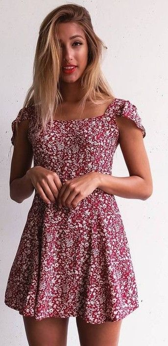 #summer #mishkahboutique #outfits | Floral Dress