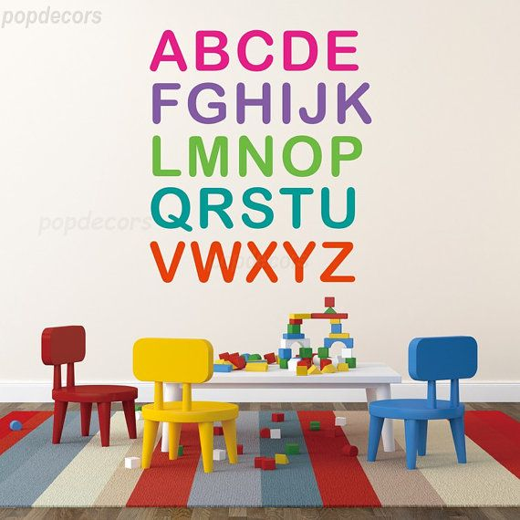 14 best Wall Decals- Kids Playroom images on Pinterest ...