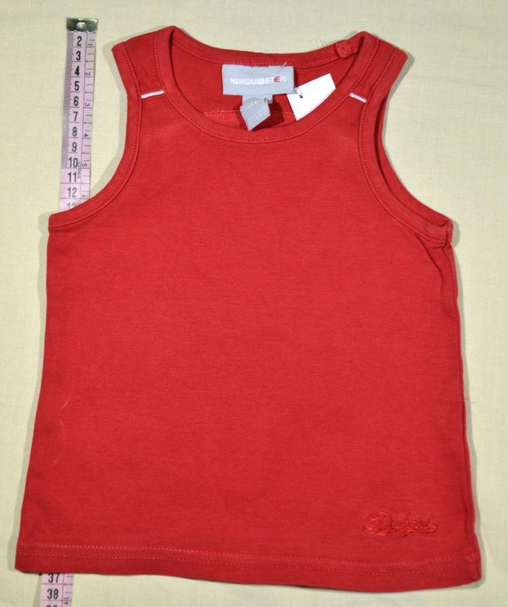 590 Ft. - Póló - piros, ujjatlan (H&M)