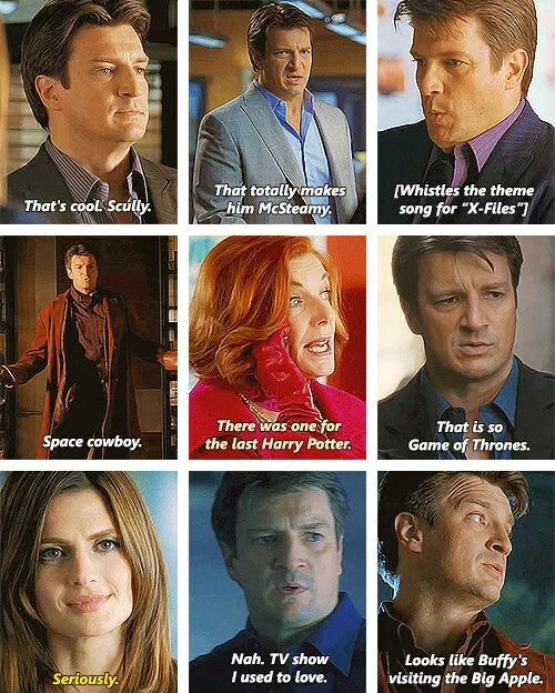 References in Castle