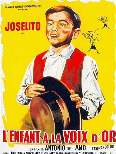 Joselito - l'enfant à la voix d'or : Affiche