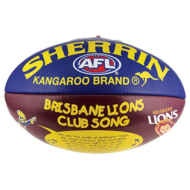 Brisbane Lions Team Song Ball