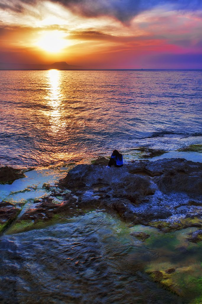 Sunset thoughts | Rethymno, Crete, Greece | by Theophilos~~