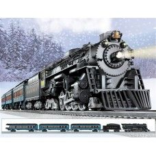 Lionel Polar Express Train Set 6-31960 Lionel Polar Express Train Set Now, you can own the Polar Express train featured in both the best-selling book and the hit movie. Painstakingly designed to be true to the original, this exclusive Lionel train set features a die-cast metal Berkshire steam locomotive with a larger pilot, a headlight lens cap, and a unique whistle. Behind the locomotive and tender are two lighted coach cars