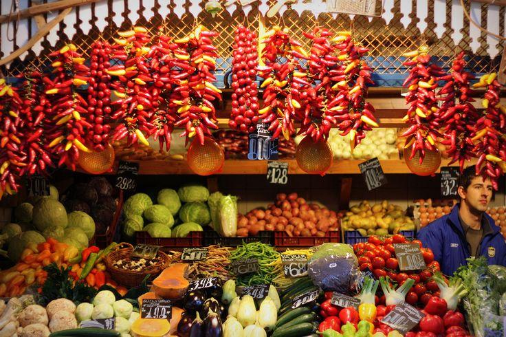 Fővám Tér Piac (Great Market Hall) | Budapest