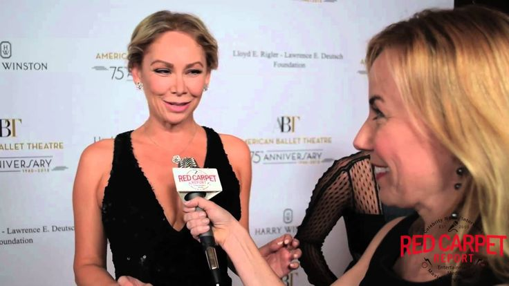 Kym Johnson Interviewed at American Ballet Theatre Holiday Benefit #ABTB...