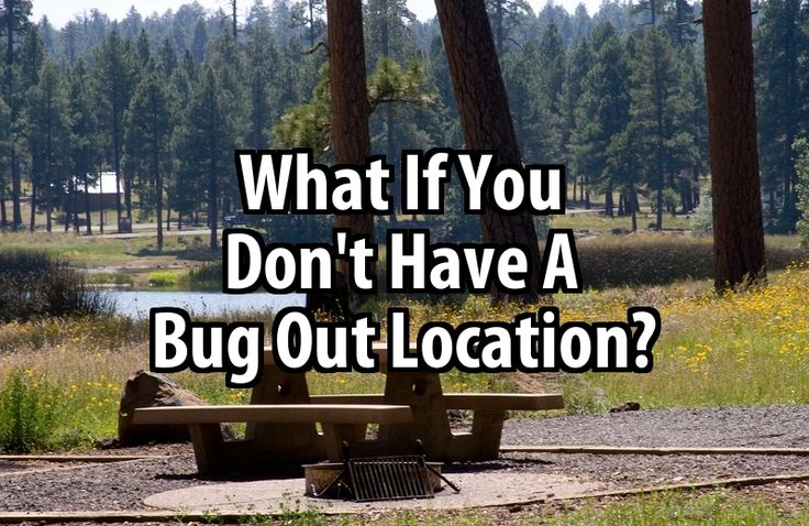 What If You Don't Have A Bug Out Location? --If you can afford a remote piece of land or if you have friends in the countryside, great. But what are those of us without a bug-out-location to do? Read more: http://urbansurvivalsite.com/dont-have-bug-out-location/#ixzz3J3EUDmOo