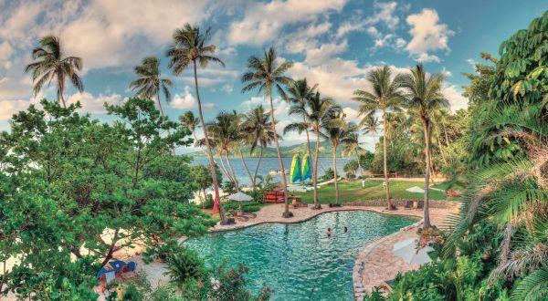 hotel iles fidji design lune de miel piscine suite privée