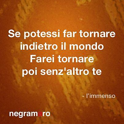 #limmenso #negramaro