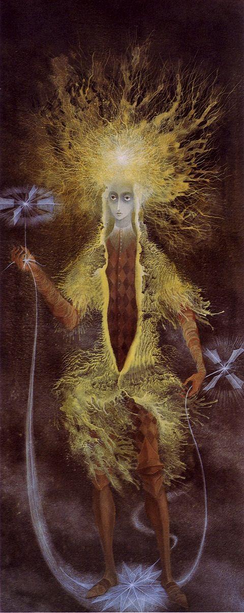 Personaje astral 1961 Remedios Varo