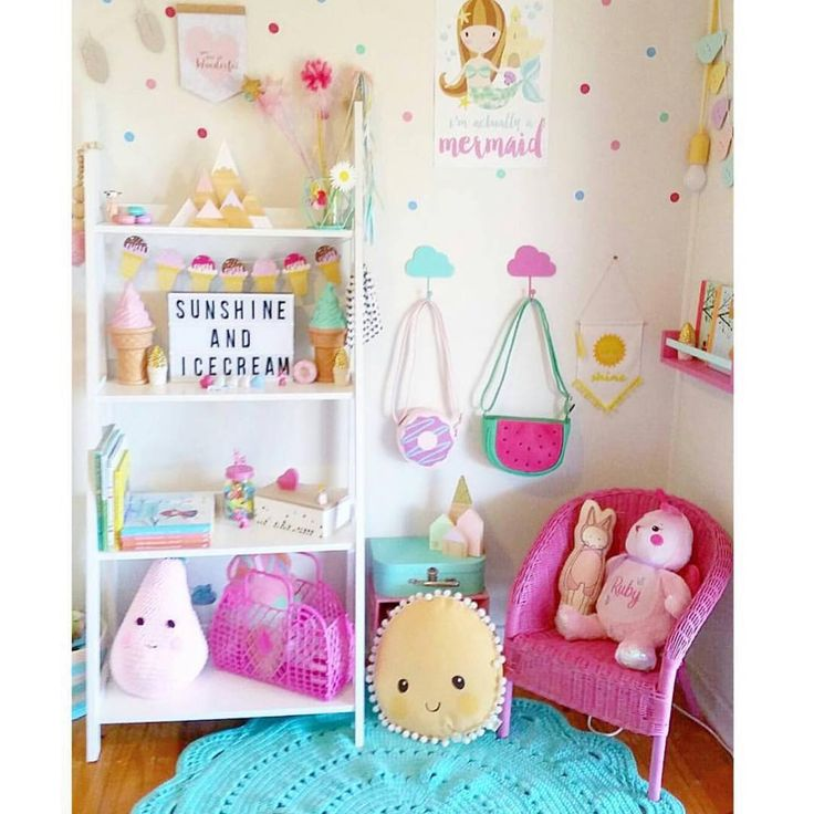 """""""This room is perfection  featuring our spotty timber mountain set in pastels and our large glitter tip mountain and pastel houses, all available now on…"""""""