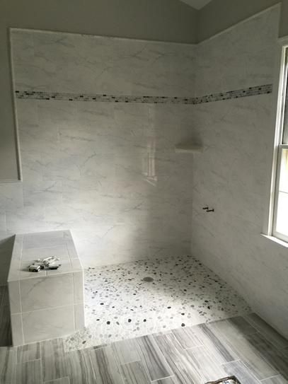 Daltile Snow Illusion 2 5 8 In X 12 In Marble Decorative