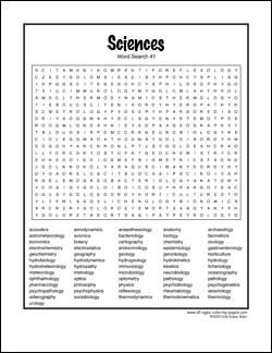 very hard word searches printable hard science word search 01 projects to try pinterest. Black Bedroom Furniture Sets. Home Design Ideas