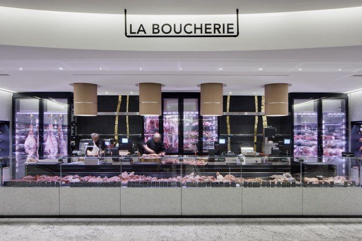 Découvrez en image le nouvelle agencement de la Grande Épicerie du Bon Marché. Blog architecture intérieure Red Banana Studio Aix en Provence.