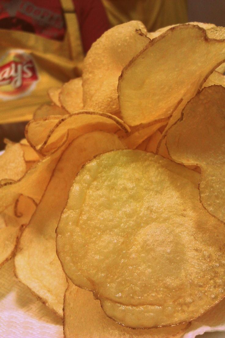 18.08 - cules recolta #fermieriilays   primele chips-uri le-am facut chiar noi.miiaaammm