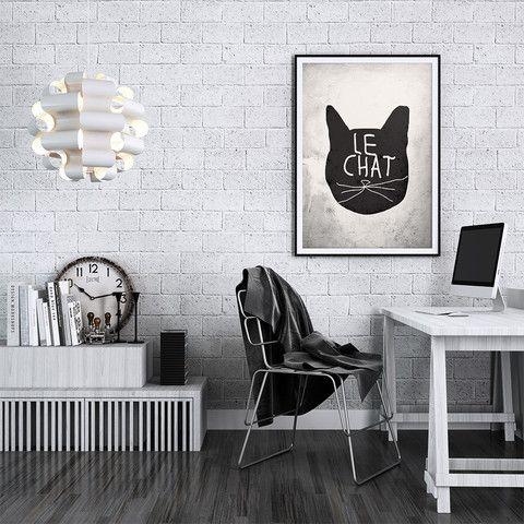 Poster adesivo A3 – O gato
